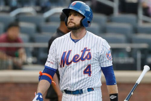 Mets' Jed Lowrie sports leg brace at spring training, gives vague response why