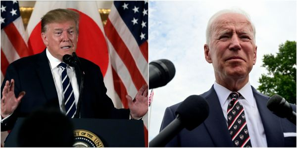 Biden demanded Trump release transcripts of a call where he reportedly badgered Ukraine's leader to investigate his son 8 times