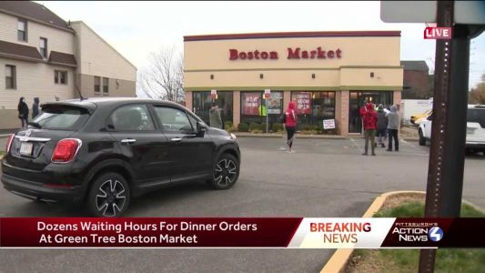 Dozens left waiting hours for dinner orders at Boston Market in Green Tree