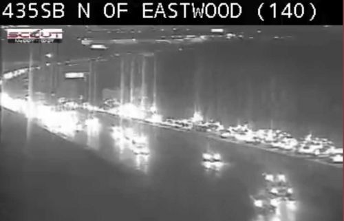 Backup reported on I-435 NB due to crash at Raytown Road