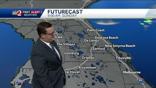 Wonderful Easter Sunday Forecast