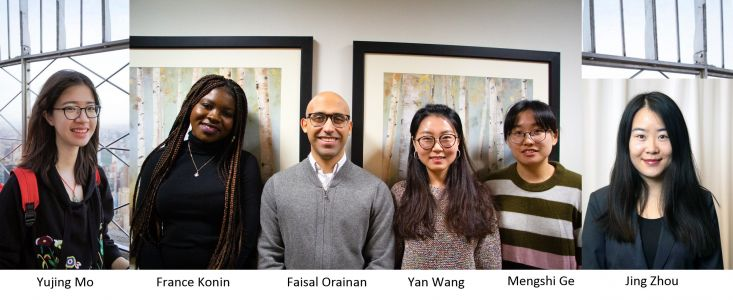 Welcome the CASSE Spring 2019 Interns