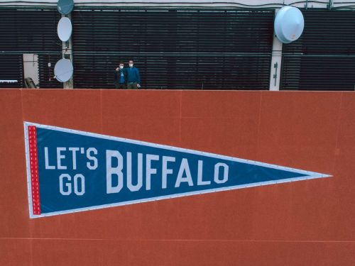 One product brought a novelty startup back from the brink at the beginning of the pandemic. Now, Oxford Pennant has become a purveyor of perseverance for Buffalo as the Bills make a historic playoff run