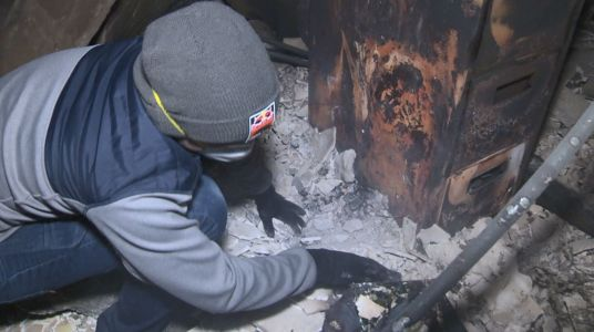 Glimmer of hope: Engagement ring found after Camp Fire destroys home