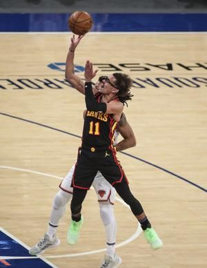 Hawks' Young to be held out against Heat due to ankle sprain