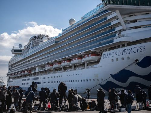 The Japanese government gave 2,000 iPhones to passengers stuck on a cruise ship where more than 100 cases of coronavirus have been confirmed