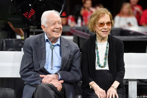 Jimmy Carter and wife go back to church after getting COVID vaccine
