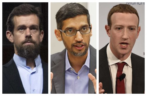 WATCH LIVE: 3 social media CEOs face grilling by GOP senators on bias