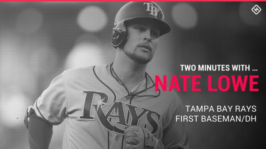 Rays' Nate Lowe on what it means to be a Tampa Bay Ray, shifting the narrative and Blink-182