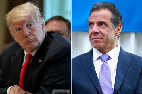Trump says he's already 'MADE America Great Again' in shot at Cuomo
