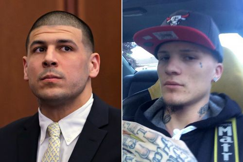 Ex-inmate claims he was Aaron Hernandez's prison lover