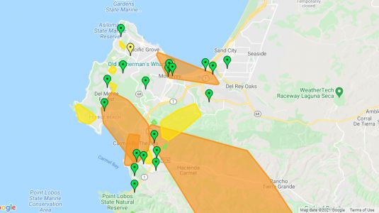 Thousands left without power on the Central Coast after windy storm