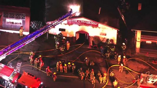 Crews on scene of church fire in Homestead