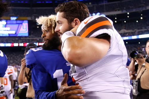 Baker Mayfield's defense of Odell Beckham tears down Giants and their fans