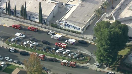 Several people injured in shooting at southern California high school, says LA County Fire Dept