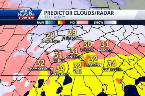 NEW: Hour-by-hour snow, sleet, ice projections