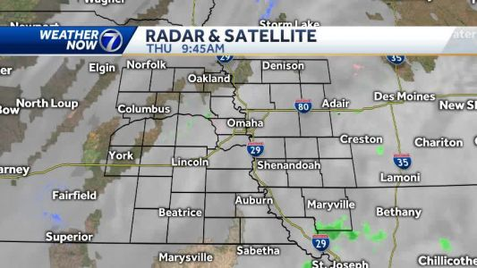A sprinkle or flurry possible in Iowa Thursday, milder late this week