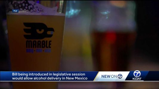 New bill could allow for alcohol delivery in New Mexico