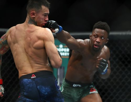 Sodiq Yusuff says Andre Fili was biggest win of career at UFC 246
