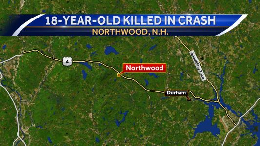 18-year-old killed in Northwood crash