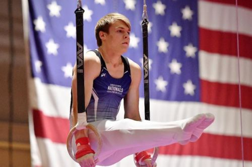 Gymnast Jonathan Freitas continues to exceed expectations