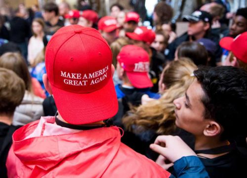 Fact Check: Posts target President Trump with false claim on MAGA hats