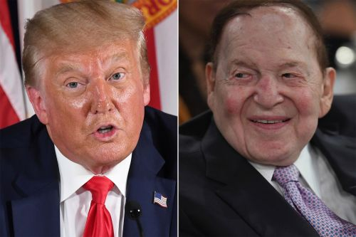 Trump has heated phone call with GOP mega-donor Sheldon Adelson: report