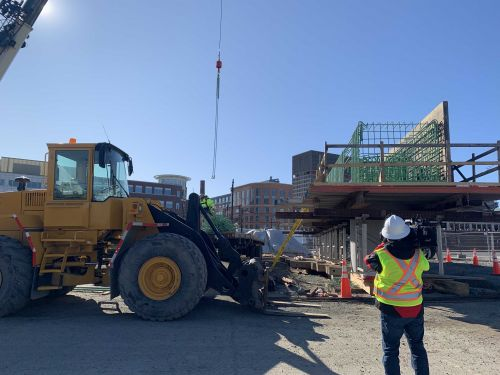 Construction on Green Line extension 20 percent complete