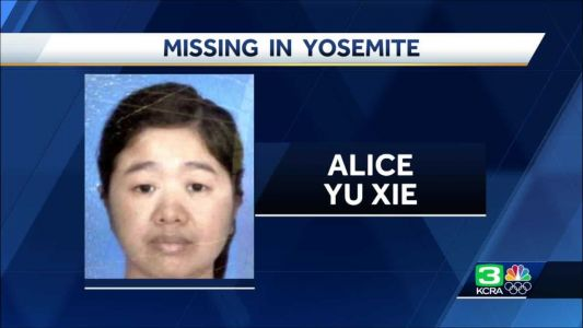 Woman reported missing at Yosemite National Park