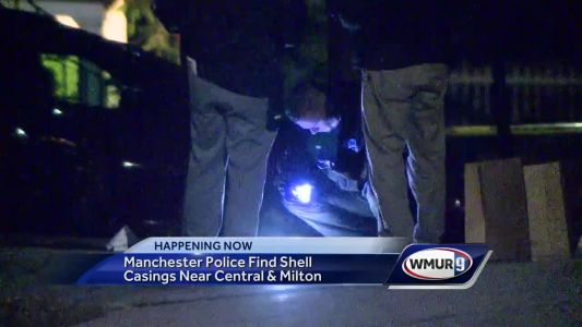 Manchester police find shell casings near Central, Milton streets