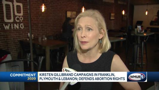 Gillibrand says she'll protect right to abortion if elected president