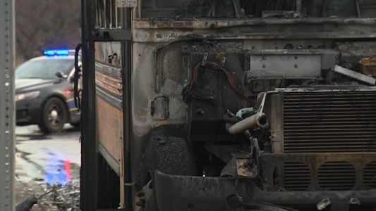 Baltimore school bus driver praised for rescuing students from burning bus