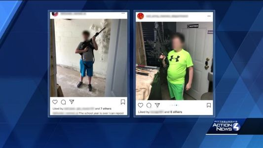 Police, FBI investigating social media photos of Upper St. Clair middle school student holding guns