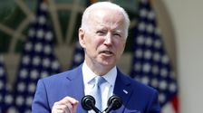 Biden Calls U.S. Gun Violence 'International Embarrassment' And Urges Congress To Act