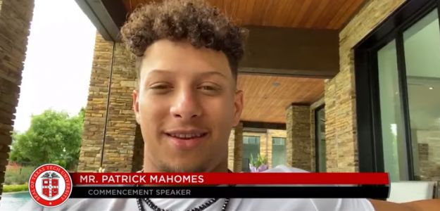 'Go out and win your Super Bowl:' Patrick Mahomes encourages Tech grads to stay strong in speech