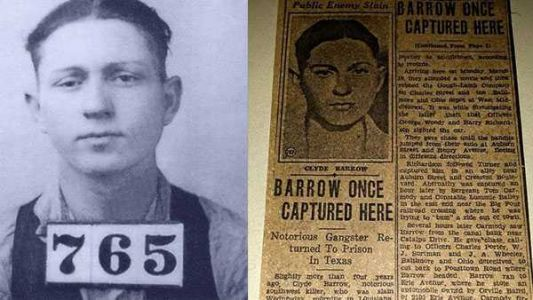 Did you know the Clyde of 'Bonnie & Clyde' was once arrested in Middletown?