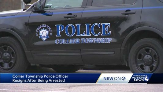 Collier Township police officer resigns after being arrested for allegedly asking minors for nude photos