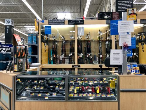 Walmart removes firearms and ammunition from the sales floor of some stores amid protests