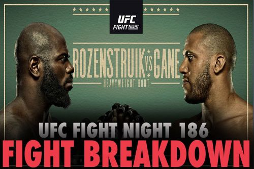 UFC Fight Night 186 video: Jairzinho Rozenstruik vs. Ciryl Gane faceoff