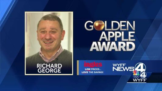 Golden Apple Winner Richard George: A history teacher with a history of his own