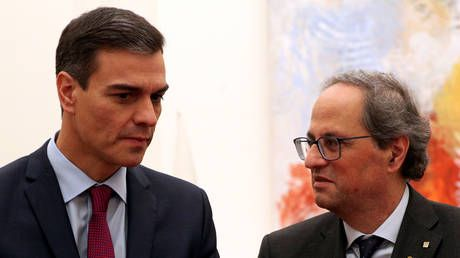 Spanish PM Sanchez to meet head of Catalan govt Torra, independence referendum 'off the table'