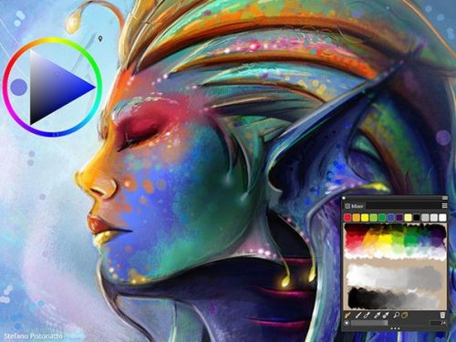 Get over 40% off the price of one of the best painting apps!
