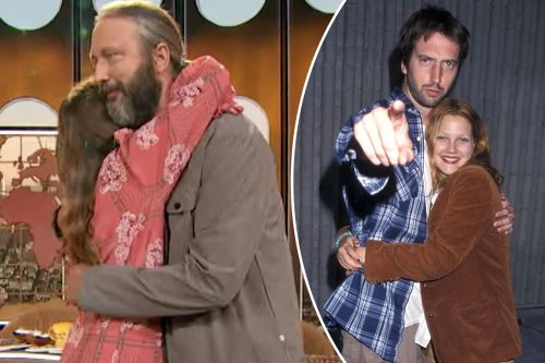 Drew Barrymore and ex-husband Tom Green reunite in person after 20 years