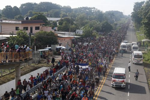 Caravan of Central American Migrants Swells to 5,000 as It Advances Toward U.S