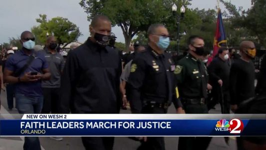 Walk of Mourning: Faith leaders march for justice in Orlando