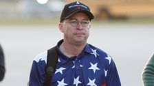 Mick Mulvaney's Air Force One Outfit Becomes A Hilarious Meme: 'Trump's Caddy'