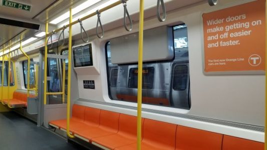 1st new trains in decades debut on T's Orange Line