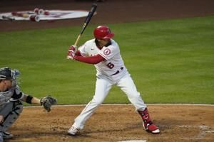 Angels put Rendon on injured list with strained groin
