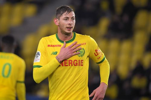 Plane carrying Argentine soccer player Emiliano Sala is missing over the English Channel
