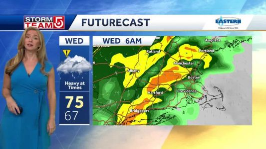 Video: Downpours likely mid-week; Fall to return late-week